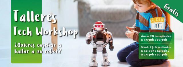 El Club de Alfi de Los Alfares organiza talleres gratuitos de robótica