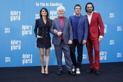 Almodóvar presenta 'Dolor y gloria':