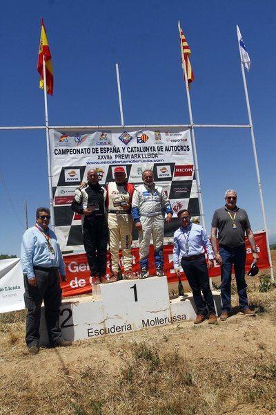 Victoria para el piloto talaverano Víctor Álvarez en el Campeonato de España