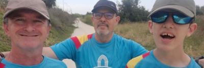 Un peregrino muy especial empieza hoy el Camino de Guadalupe