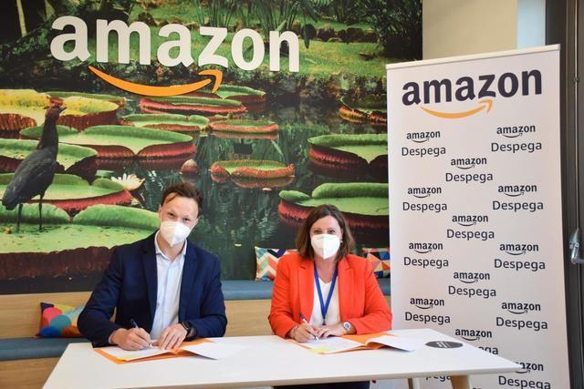 Importante acuerdo entre la Junta y Amazon