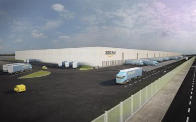El centro logístico de Amazon en Illescas tendrá una superficie útil de 100.000 m2