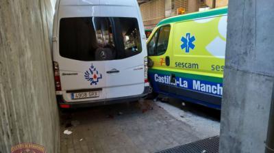 Muere una mujer atropellada por una ambulancia en las Urgencias de Toledo