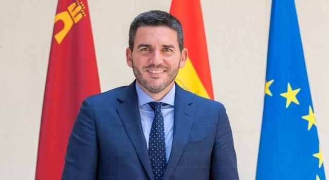 Luengo, consejero de Agua, Agricultura, Ganadería, Pesca y Medio Ambiente de Murcia.