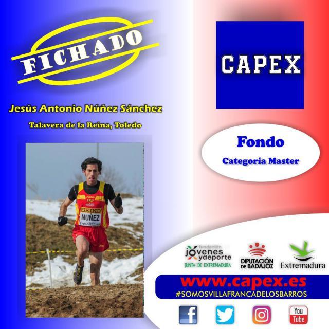 ATLETISMO | El talaverano Antonio Núñez nuevo fichaje del Capex