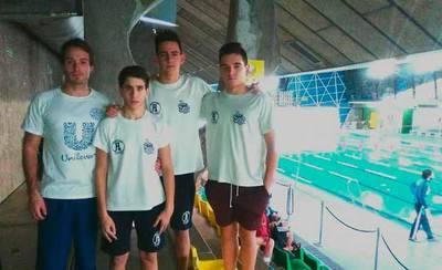 Buena actuación de los nadadores del CN Aqüis en Tomelloso