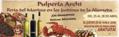 Hasta el domingo puedes disfrutar en Talavera de la Feria del Marisco