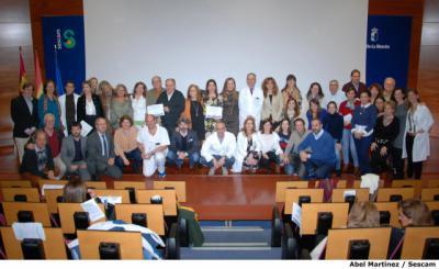 El Área Integrada de Talavera reconoce la labor de los profesionales de Atención Primaria