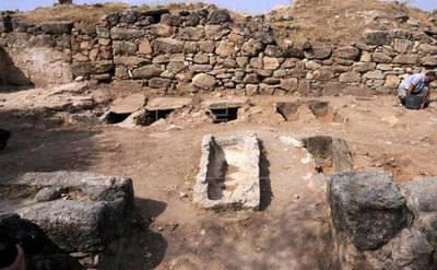 Se hallan 30 tumbas del siglo VII en Arisgotas (Toledo)