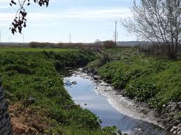 Este río se ha desbordado en Yeles.