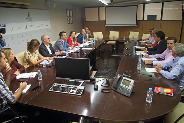 Reunión de trabajo entre Agricultura y UPA Castilla-La Mancha