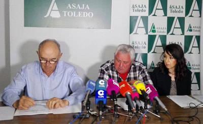 ASAJA se manifestará el día 6 de abril porque 'Sin campo no hay vida'