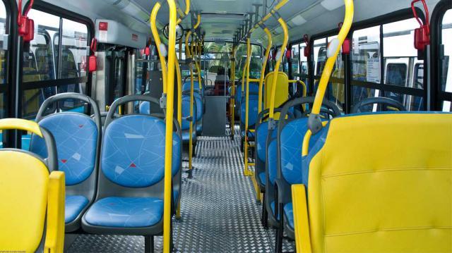Asientos bus urbano / Archivo