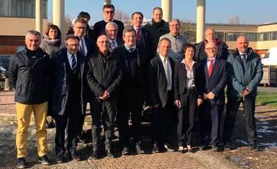 José Luis Muelas asiste a la Asamblea Europea de Ciudades de la Cerámica