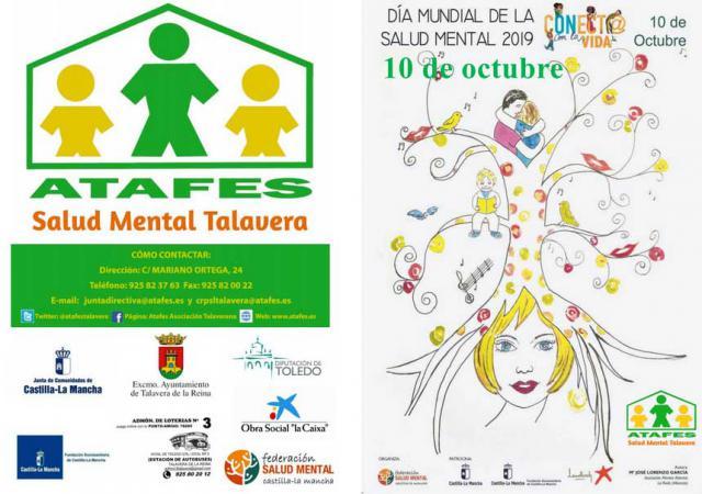 ACTIVIDADES ATAFES | 'Conect@ con la vida' lema elegido para conmemorar el Día Mundial de la Salud Mental