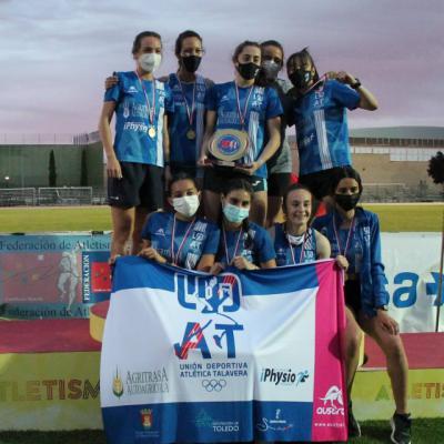 El equipo femenino de UDAT consigue su primer título regional