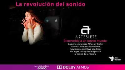Dolby Atmos, la revolución del sonido, llega a las salas de cine de Artesiete Alfares