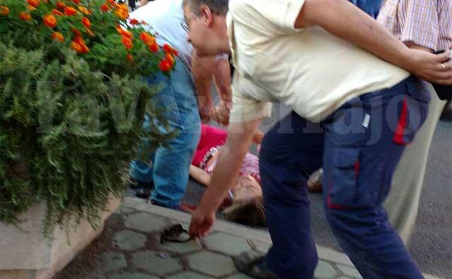 Atropellada una mujer en la talaverana Avenida de P�o XII