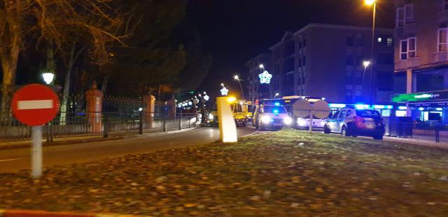 Dos heridos en un atropello en la Avenida de Extremadura
