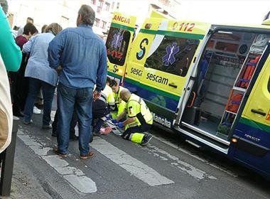 Una mujer herida al ser atropellada en un paso de peatones en Talavera