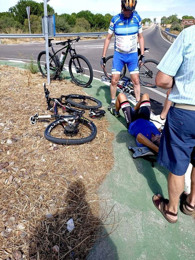 TALAVERA | Atropello de un ciclista en la carretera de Mejorada