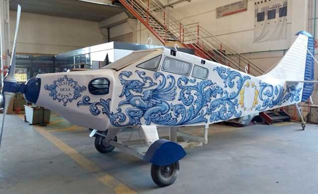 La avioneta de Harinera Talaverana ya est� restaurada