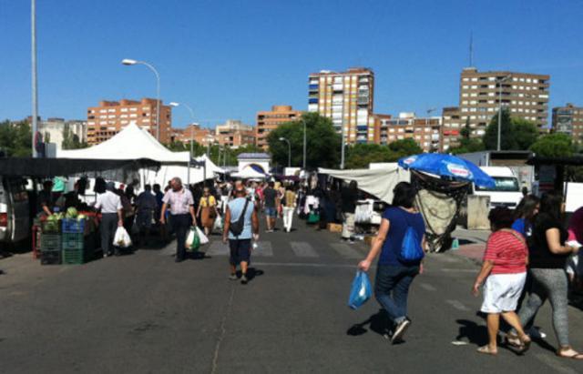 TALAVERA | Todo listo para la vuelta del mercadillo de los miércoles