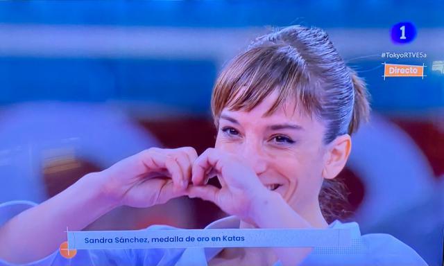 Sandra Sánchez   Foto: RTVE