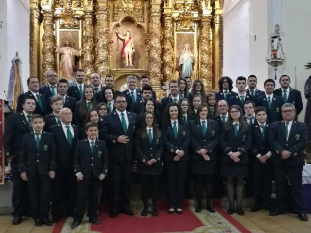 """La banda de música """"San Sebastián"""" (Facebook)"""