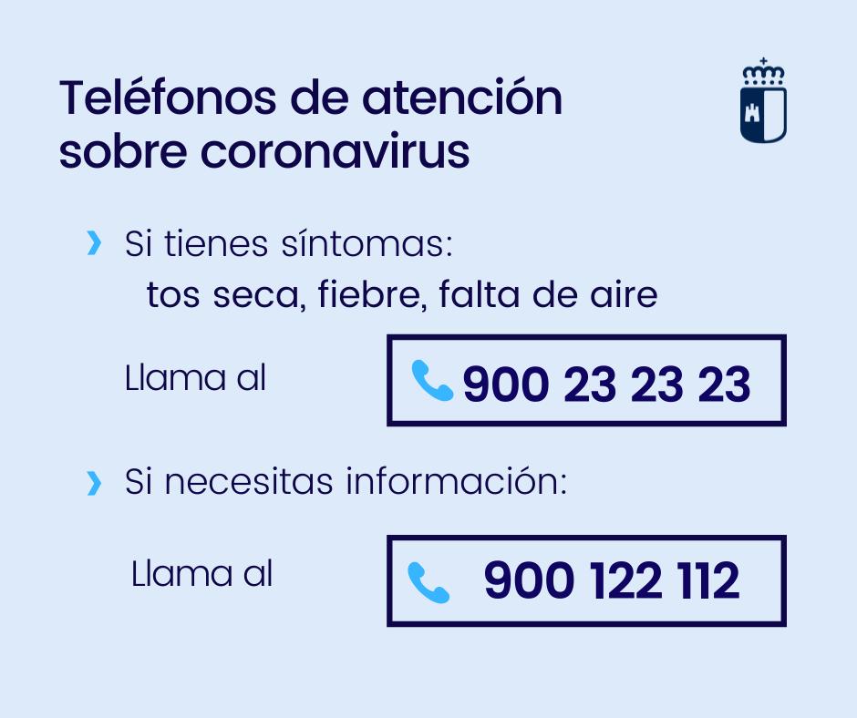 ÚLTIMA HORA | Castilla-La Mancha confirma 567 casos por coronavirus y eleva a 17 los fallecimientos