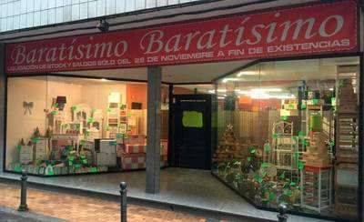 'Baratísimo' abre hoy sus puertas hasta fin de existencias