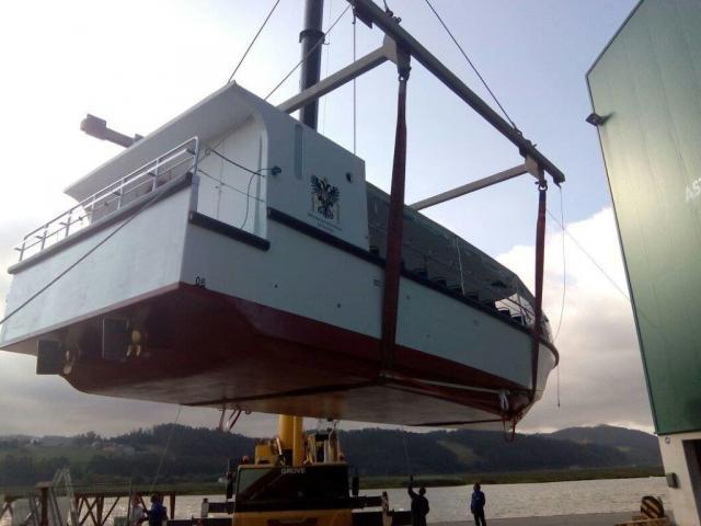 La Diputación de Toledo calcula que el barco de Ciudad de Vascos podrá salir a subasta en unos tres meses