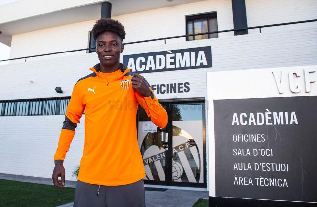 FÚTBOL   Bashiru, juvenil del CF Talavera, ya está incorporado al Valencia