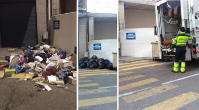 TALAVERA | La falta de civismo y el buen trabajo de los servicios de limpieza