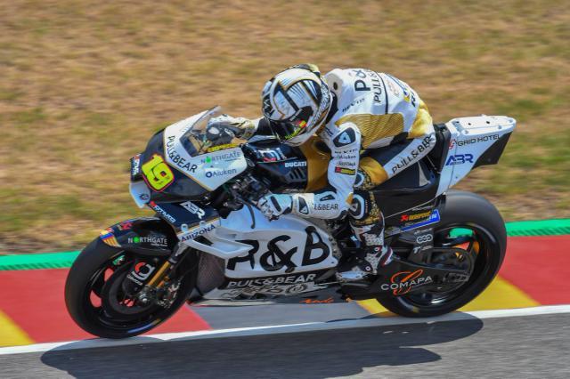 El talaverano Álvaro Bautista reivindica en Alemania su lugar en MotoGP