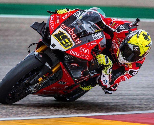 Séptima victoria consecutiva para el piloto de Superbikes Álvaro Bautista