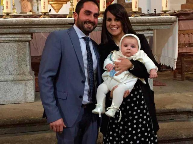 Gabriel Pérez Chaparro recibió el sagrado sacramento del bautismo