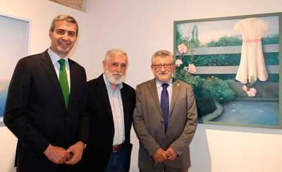 Álvaro Gutiérrez invita a disfrutar de los cuadros de Juan Berenguel