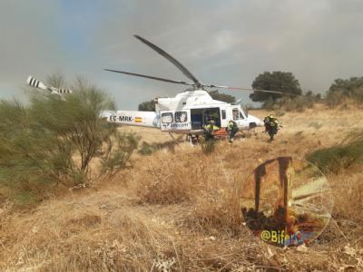 INCENDIO | Cerca de la nueve de la noche se controló el fuego en Las Herencias