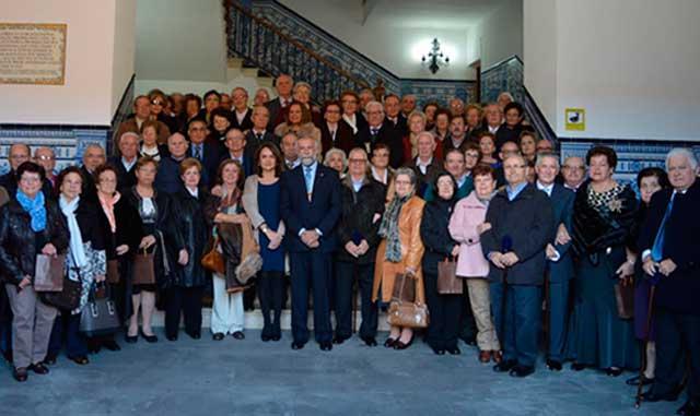 Ramos asiste al homenaje de Asuntos Sociales a las Bodas de Oro