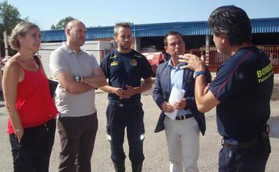 El PSOE planteará construir un nuevo Parque de Bomberos