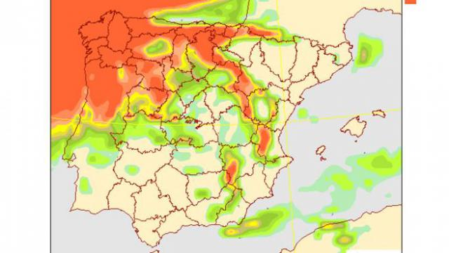 EL TIEMPO | Llega 'Hortensia', una nueva borrasca que provocará rachas de viento fuerte