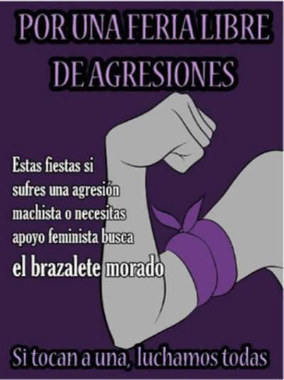La 'Brigada Violeta' luchará contra el machismo en las Ferias