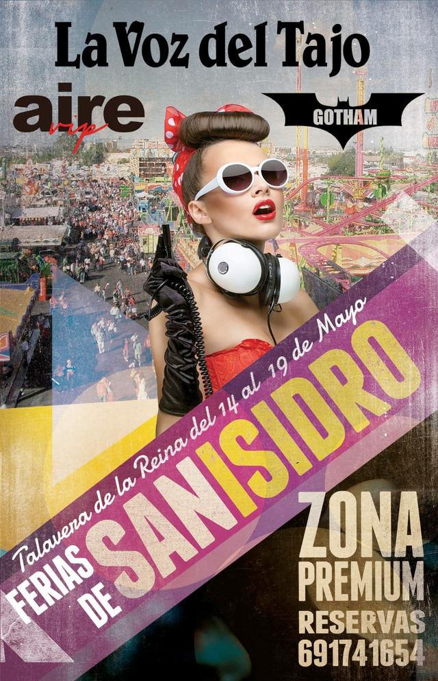 'Zona Premium', Djs , conciertos y mucho más... en la caseta de La Voz del Tajo