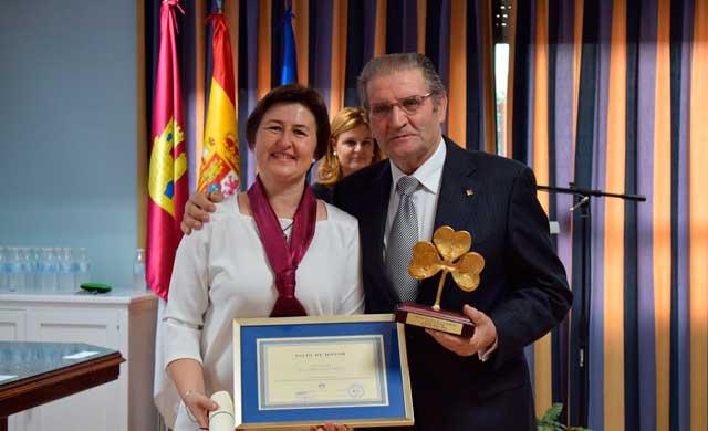 G�mez Mora, Socio de Honor de APANAS Toledo