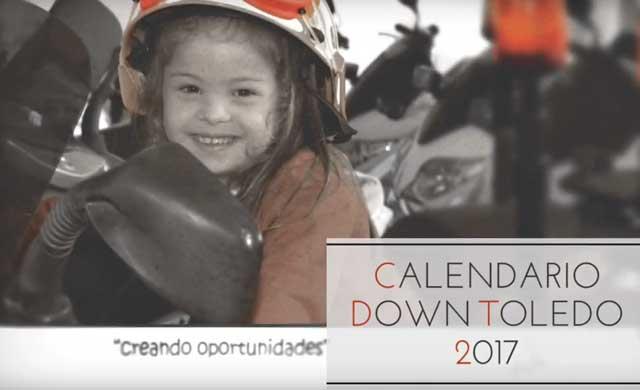 'Nos ayudan y protegen', el calendario benéfico de la Asociación Down Toledo