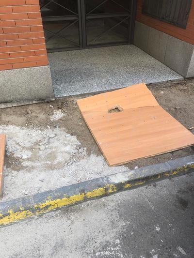 FOTOS | Catalogan de 'desastre' las obras de la calle del Barrio de San Juan