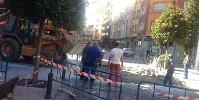 La calle Prado estará cortada hasta el día 30