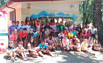 La Diputación Provincial de Toledo desarrolla los campamentos de verano