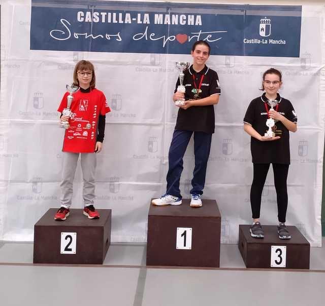 Sobresalientes los jóvenes talaveranos del TWINNER-SERMA TM TALAVERA, campeones por equipos en cadete masculino y alevín femenino